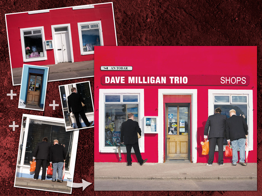 Dave Milligan Trio : Album cover artwork