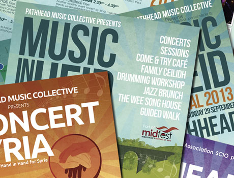 PMC : Posters, Flyers & CD artwork