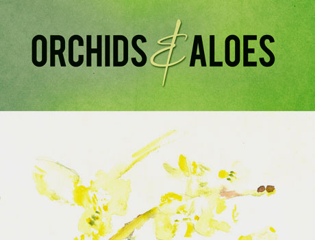 Sharon McHale: 'Orchids & Aloes' book cover design