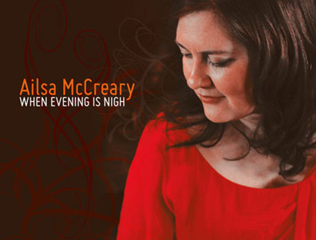 Ailsa McCreary: 'When Evening Is Nigh'  album artwork