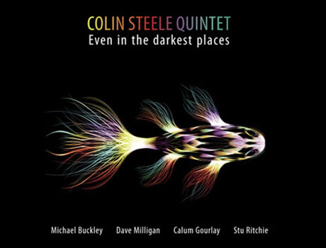 Colin Steele: 'Even In The Darkest Places' album artwork