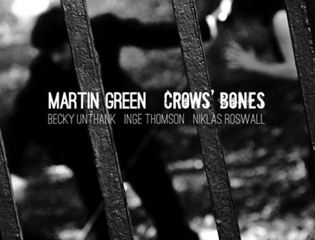 Martin Green: 'Crows' Bones'  album artwork + postcard