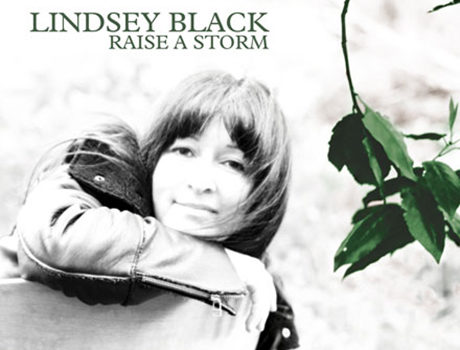 Lindsey Black: 'Raise A Storm'  album artwork