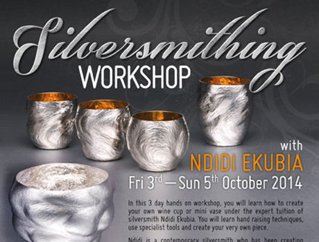 C.A.T. Silversmithing workshop flyer