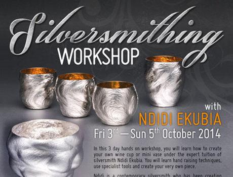 C.A.T. Silversmithing workshop flyer