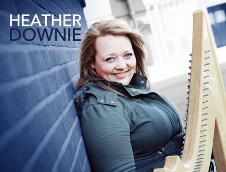 Heather Downie: 'Nae Sweets For Shy Bairns' album artwork