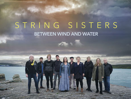 String Sisters: 'Between Wind and Water' album artwork