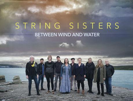 String Sisters: 'Between Wind and Water' album artwork