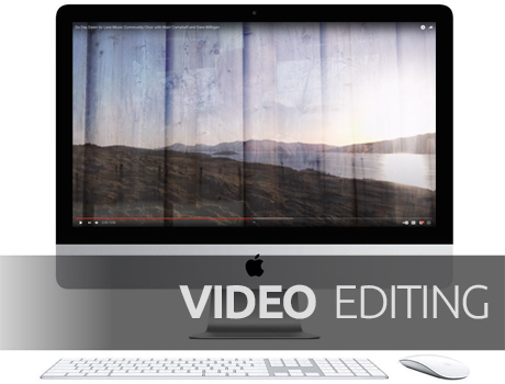 Selection of Video editing projects