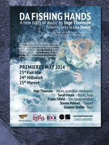 Inge Thomson - concert posters