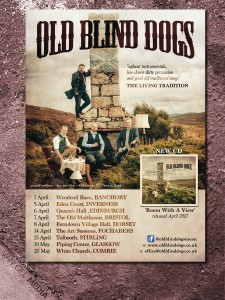 Old Blind Dogs - tour poster
