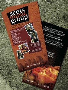Scots Music Group - flyers