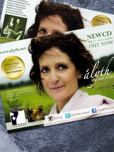 Alyth McCormack - Album and German tour poster