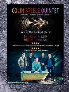 Colin Steele - new album poster
