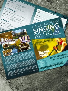 Harmonysong - brochure and booking form