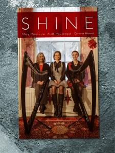 Shine - blank concert poster