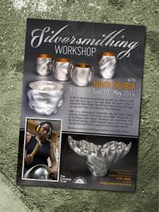 Cromarty Arts Trust - Silversmithing Workshop flyer